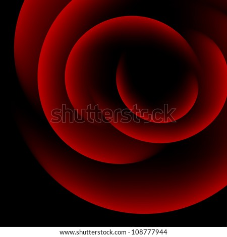 big rose abstract background