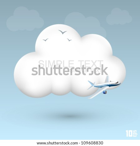 air cloud vector