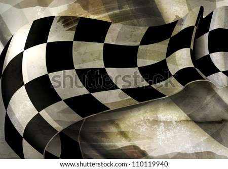 background horizontal checkered
