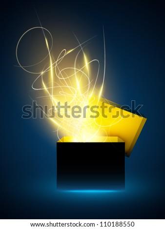 sparkling vector cube