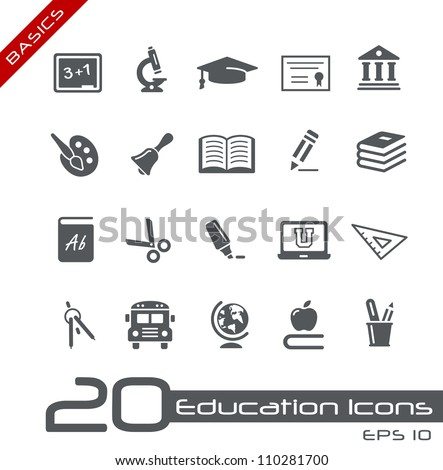 education icons    basics