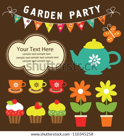 garden party cute collection