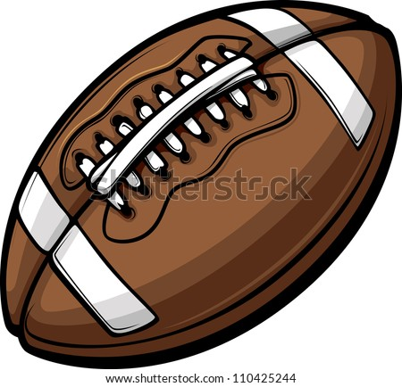 american football ball template
