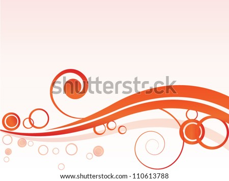 vector spring autumn abstract