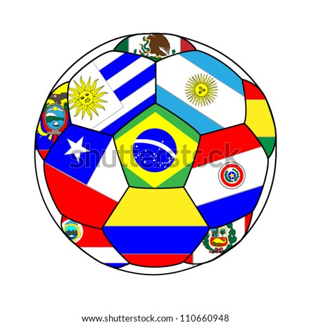 football with south american