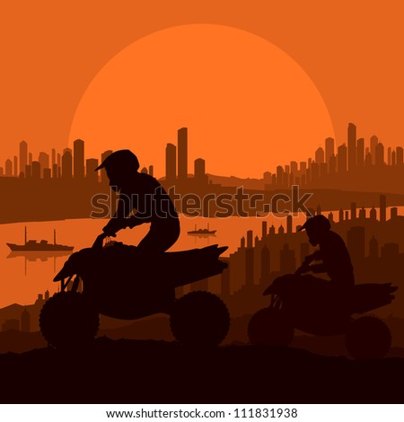 all terrain vehicle motorbike