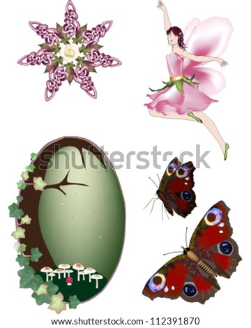 fairy vector collection
