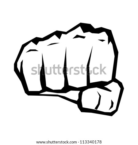 freedom concept vector fist
