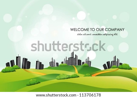 city landscape background