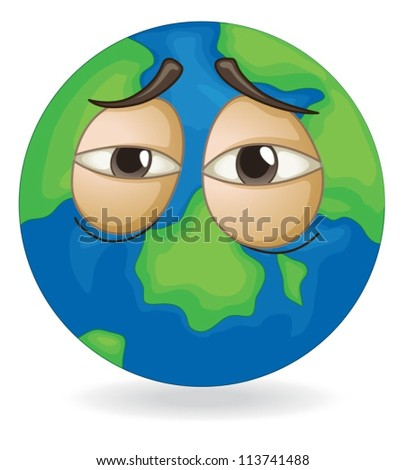 illustration of earth globe