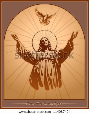 stock-vector-jesus-christ-holy-spirit-blessing-christianity-vector