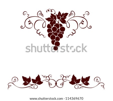set design elements    grape