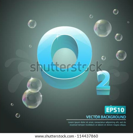 vector background with air