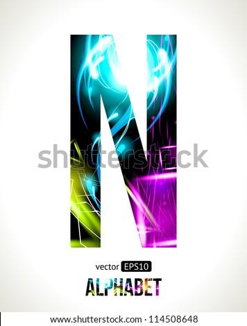 Advertising Cool Letter N Designs