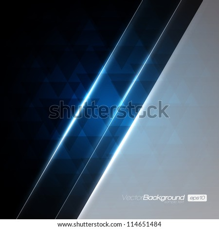 abstract modern blue vector