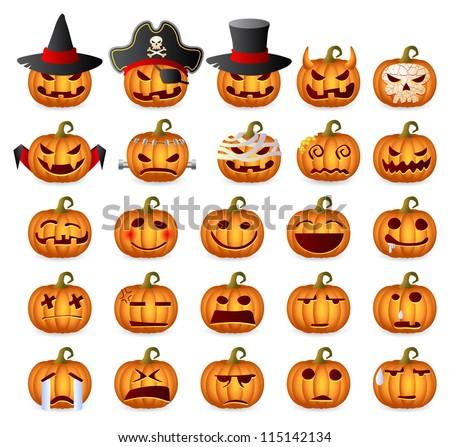 halloween pumpkins  horror