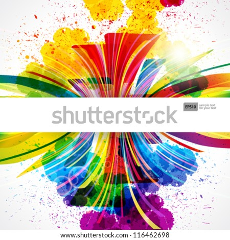 abstract background forming by