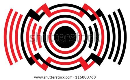 loud sound   alarm symbol