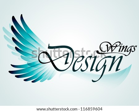wings design element