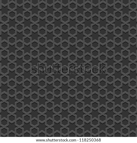 black textured islamic pattern