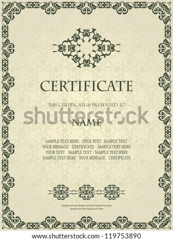 Coreldraw certificate templates free vector download 16146 free we are creating many vector designs in our studio bsgstudio the new designs will be published daily yadclub