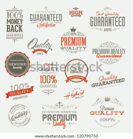 set of vintage premium quality