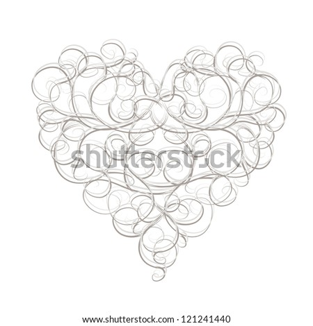 Vector Floral Heart Free Download 11496 For Commercial Use Format Ai Eps Cdr Svg Illustration Graphic Art Design