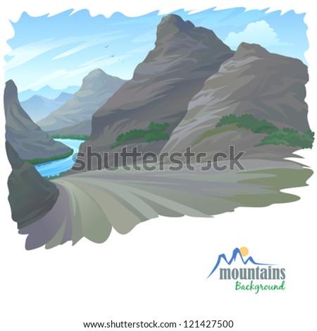 high rocky mountain