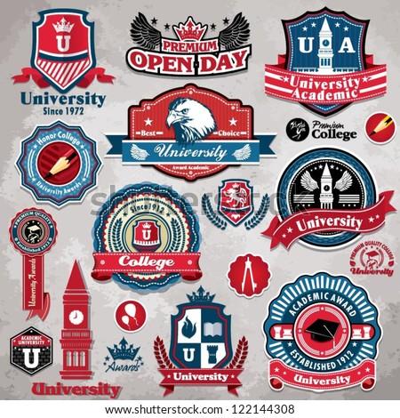 Advertising University Logo Vector