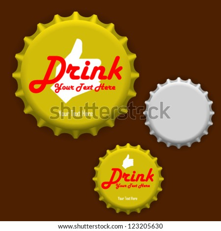 vector bottle cap template free vector download 16 199 free vector