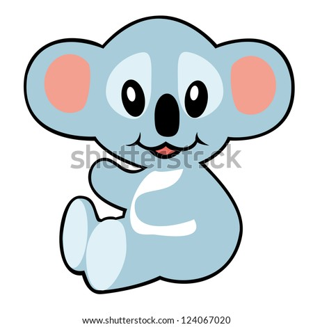 koala bear vector illustration