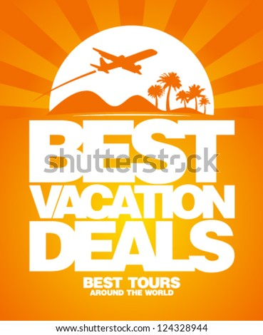 best vacation deals advertising