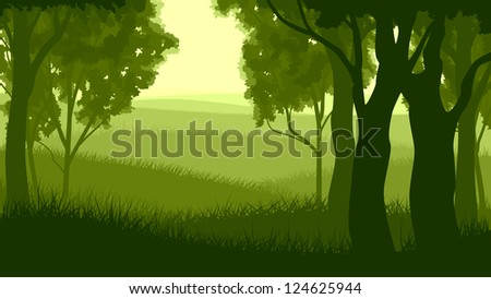 vector illustration of tree