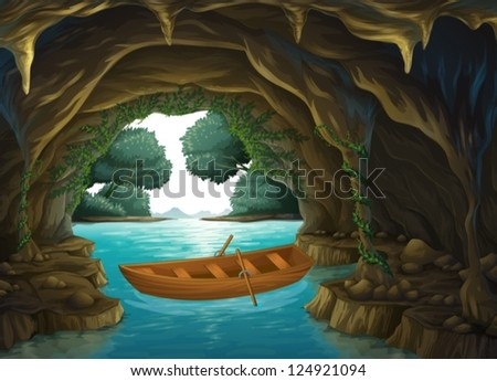 illustration of a boat in the