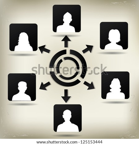 people avatar vector