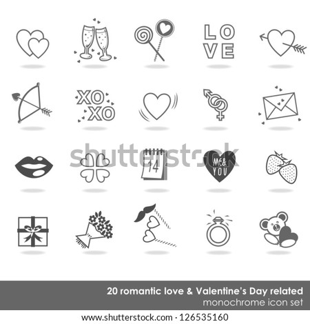20 romantic love valentine's