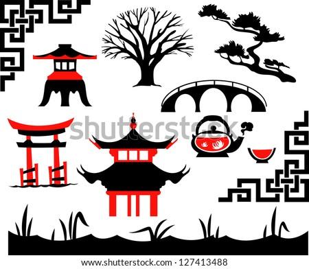 garden asian set