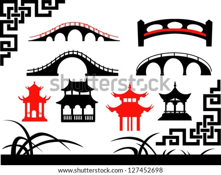 collection of asian bridges