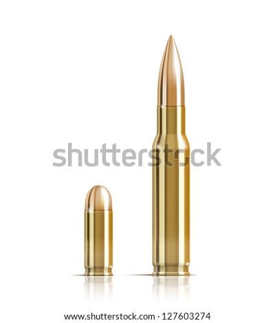 vector ammunition bullets on