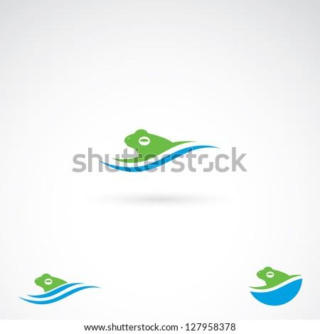 frog symbol   vector