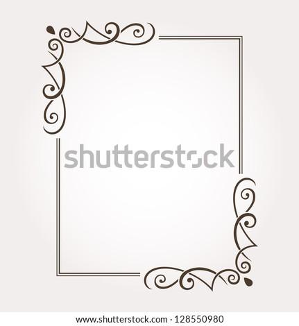 Fancy Frames Ornate Borders Free Vector 4vector