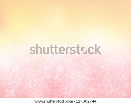 pink cherry background