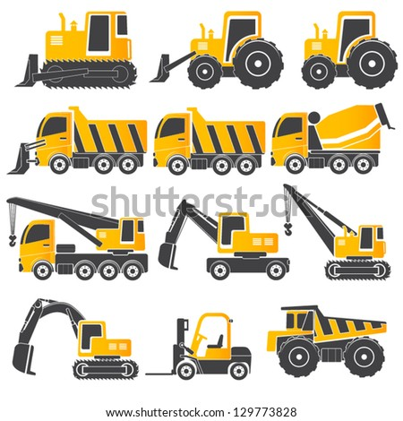 heavy duty machines    gray