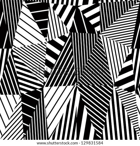 geometric stripy seamless