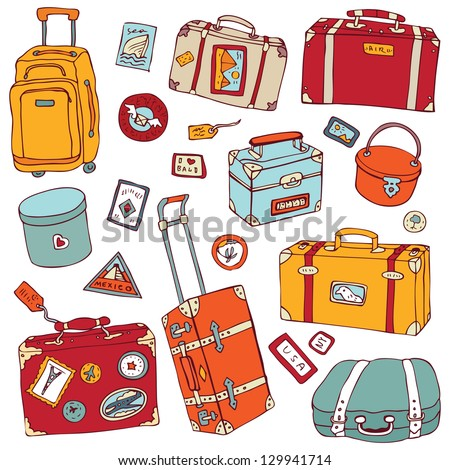 vector collection of vintage