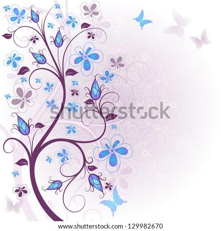 spring gentle floral easter