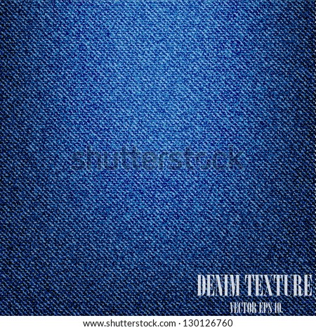 Denim Texture Vector Blue Denim Texture Background