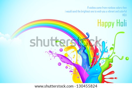 illustration of colorful splash