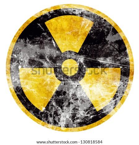 vector nuclear sign