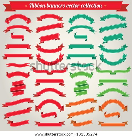 stock-vector-ribbon-banners-vector-collection